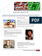 Regional Command Southwest - August 20, 2011 Roundup