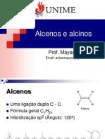 04 - Alcenos e alcinos