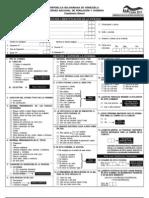 Cuestionario del Censo 2011