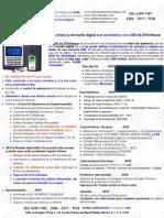 ZKSoftware X628 Reloj Checador Con USB Huella Digital MAS Economico