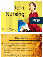 Florence Nightingale-Modern Nursing