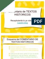 Comentario de Textos Histricos 22152