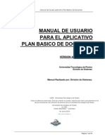 Manual de Usuario Plan Basico DOCENTES I-2011