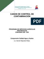 OEI-DGI Canon de Control de Contaminacion