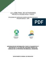 OEI-DGI Informe Final de Actividades