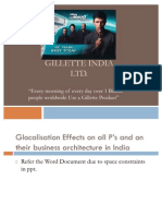 FINAL Gillette Ppt
