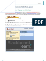 Blackboard Student Guide:2012 Edition
