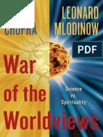 War of the Worldviews by Deepak Chopra and Leonard Mlodinow - Excerpt