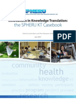New knowledge translation casebook features kidSKAN as case study