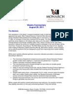 The Monarch Report 8-29-11