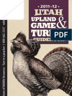 2011-12 Utah Upland & Turkey Regulations