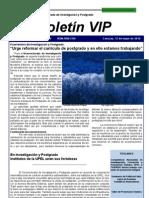 Boletin VIP Abril Mayo 2010