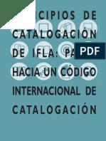 IFLA principios de catalogación