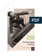 Boas, Franz - Antropologia Cultural