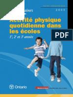 Education Physique Dans Les Ecoles
