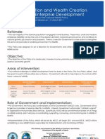Liberia MSME Policy Fact Sheet - Standard English