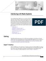 Cisco -Interfacing With Radio Systems