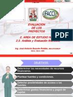 2.5. Analisis y Evaluacion Financier A