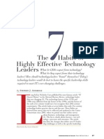 7 Habits of Highly Effective Tech Ldrs