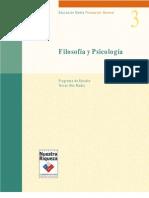 3m03 Filosofia y Psicologia