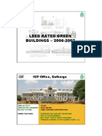 13. LEED Rated Green Buildings in 2006-2007