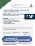 318 -ISO 50001 - Sistema de Gestão da Energia