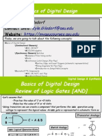VHDL_00 - Basics of Digital Design