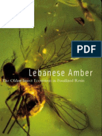 Lebanese Amber, Oldest Insect Ecosystem in Fossilized Resin 2001