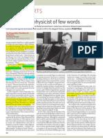 P. A. M. Dirac