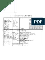 Formula Rio Mat Generales