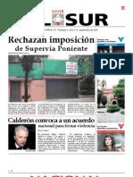 Vivir El Sur - Septiembre 2008