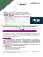 2° draft of my TBL plan