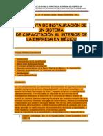Gesti+¦n y Estrategia INSTRN SIST CAPAC. HACIA INTERIOR EMPRESA EN MEX