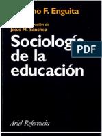 Sociologia de La Educacion