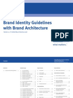 United Way Of America Brand Identity Guidelines with Brand Architecture