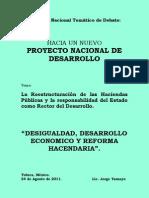 24-08-11 Ponencia de Jorge Tamayo Lopez Portillo - 1er Foro Nacional CNE