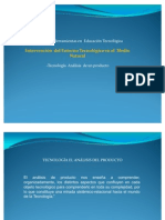 Analisis producto tecnologico