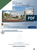 Memoria Descriptiva - San Martín de las Piramides - Estudio Urbano I