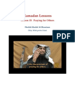 Ramadan Lessons by Sheikh Khalid Al-Husainan (may Allah Protect him) Lesson 15