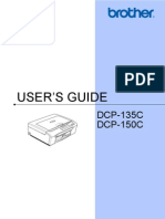 Brother Dcp135 User Guide