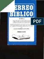 MOISÉS CHÁVEZ Hebreo bíblico ejercicios