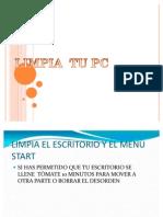LIMPIA  TU PC