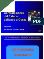 Ley de Contrataciones Aplicado a Obras