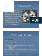 Microsoft Power Point - Aula 7 Sistema Muscular 1