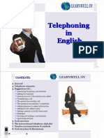 Telephoning in English