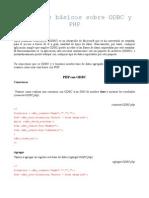 Conceptos Basicos Sobre Odbc y Php