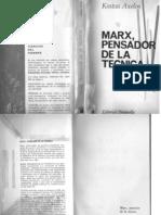 Kostas Axelos, Marx Pensador de La Tecnica