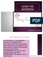 Cracking the Interview