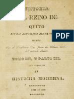 Historia del Reino de Quito en la América Meridional - Vol.3
