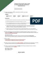 Examen Conocimientos para Planeación